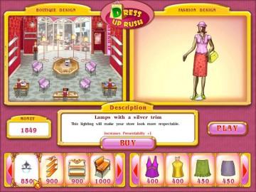 Screenshot af Dress Up Rush