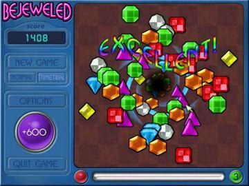 Screenshot af Bejeweled Deluxe