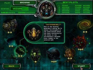 Screenshot af Star Defender 4