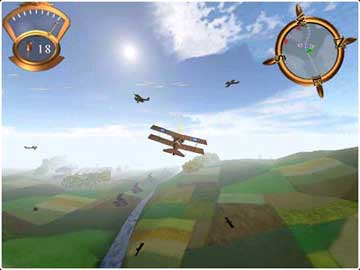 Screenshot af Master of the Skies: The Red Ace