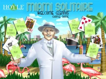 Screenshot af Hoyle Miami Solitaire