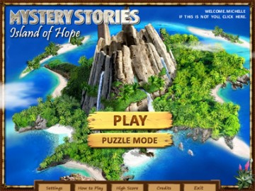 Screenshot af Mystery Stories: Island of Hope