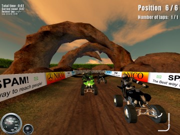 Screenshot af ATV Mudracer