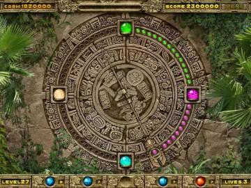 Screenshot af Inca Ball