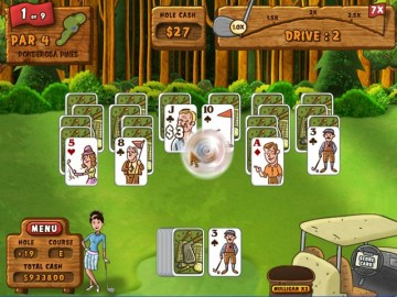Screenshot af Fairway Solitaire