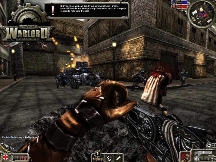 Screenshot af Iron Grip: Warlord