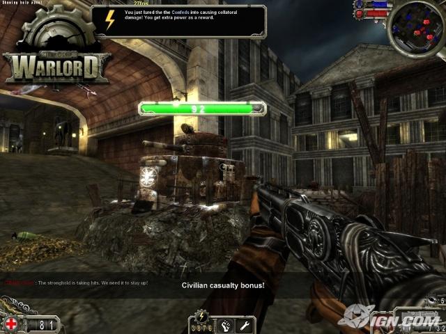Screenshot af Iron Grip: Warlord