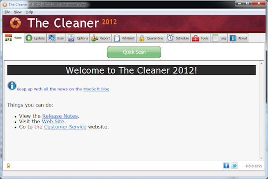 Screenshot af The Cleaner