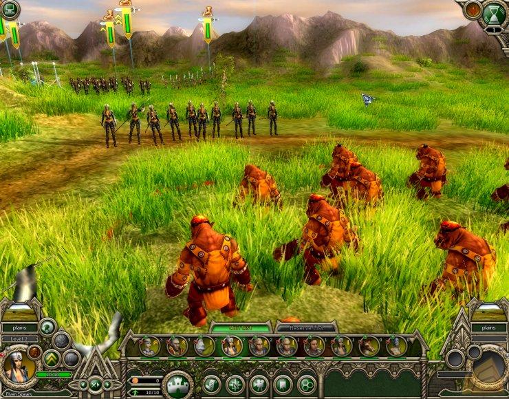 Screenshot af Elven Legacy