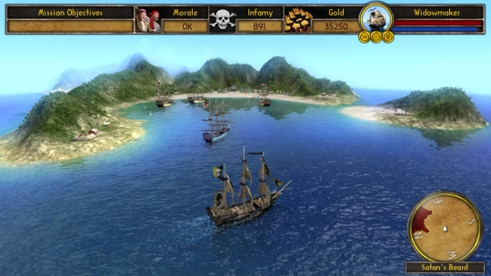 Screenshot af Buccaneer: The Pursuit of Infamy
