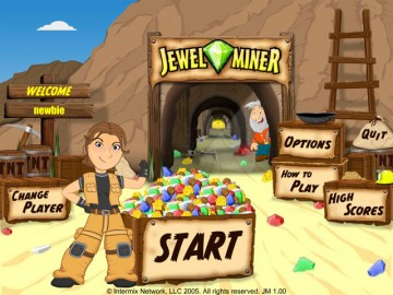 Screenshot af Jewel Miner