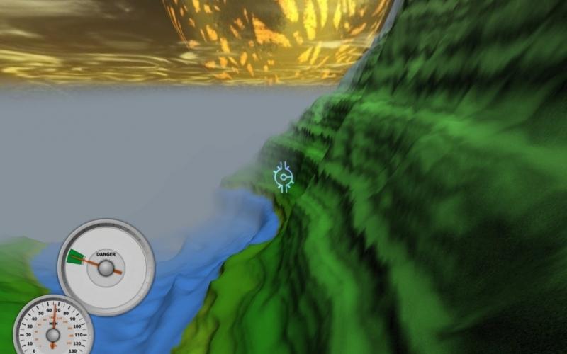 Screenshot af Aaaaa AAaaa AAAaa AAAAa AAAAA!!! A Reckless Disregard for Gravity