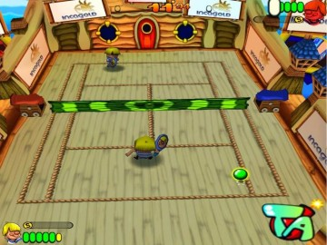 Screenshot af Tennis Antics