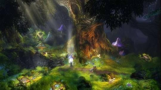 Screenshot af Trine