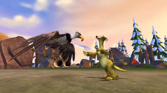 Screenshot af Ice Age 3: Dawn of The Dinosaurs