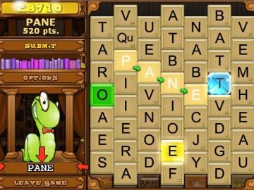 Screenshot af Bookworm Deluxe