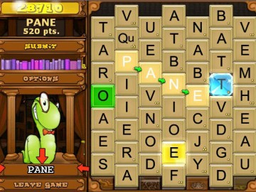 Screenshot af Bookworm Deluxe