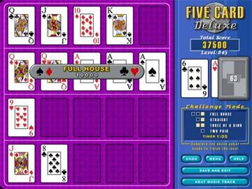 Screenshot af Five Card Deluxe