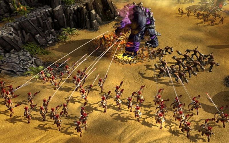 Screenshot af Battle Forge