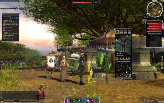 Screenshot af Guild Wars