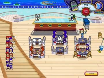 Screenshot af Diner Dash: Flo on the Go
