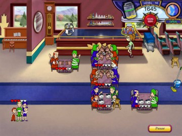 Screenshot af Diner Dash: Flo on the Go