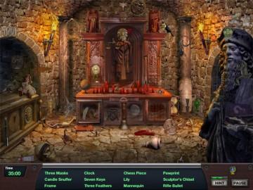 Screenshot af Nightshift Legacy - The Jaguars Eye