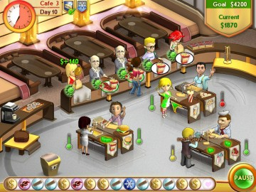 Screenshot af Amelie's Cafe