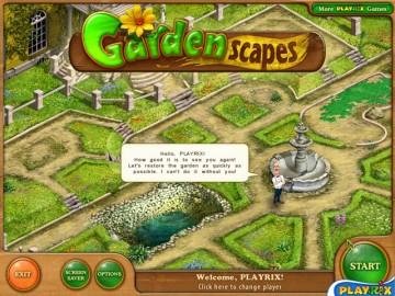 Screenshot af Gardenscapes