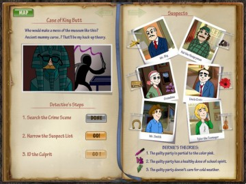 Screenshot af DinerTown Detective Agency