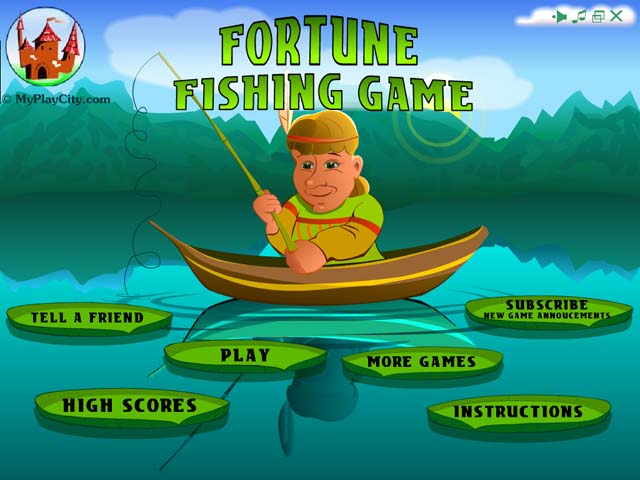 Screenshot af Fortune Fishing Game