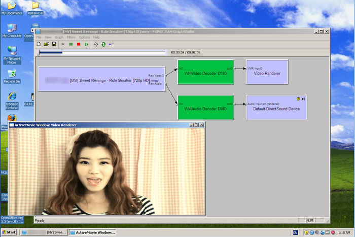 Screenshot af K-Lite Mega Codec Pack