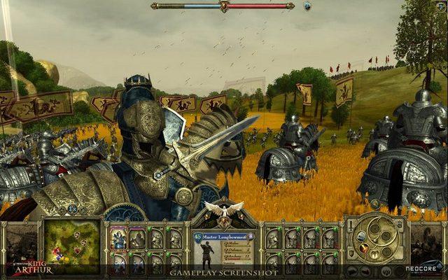 Screenshot af King Arthur