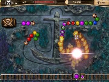 Screenshot af Pirate Poppers