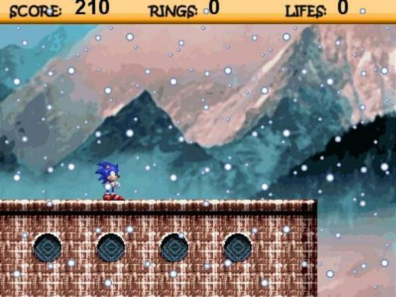 Screenshot af Sonic Games