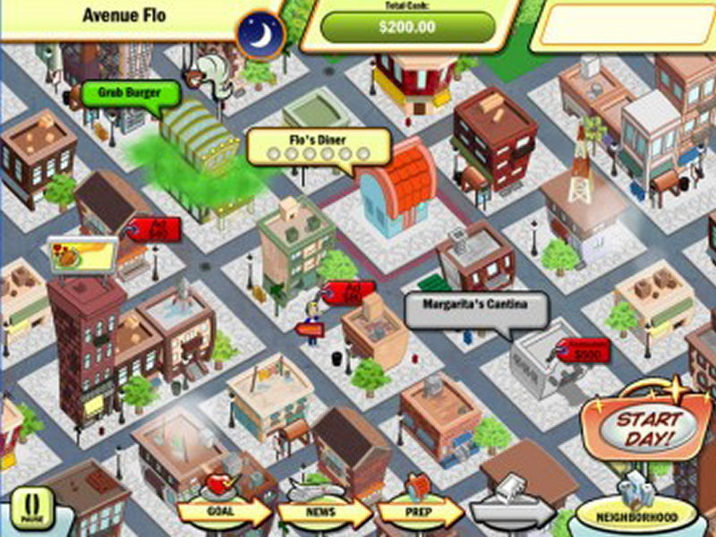 Screenshot af DinerTown Tycoon