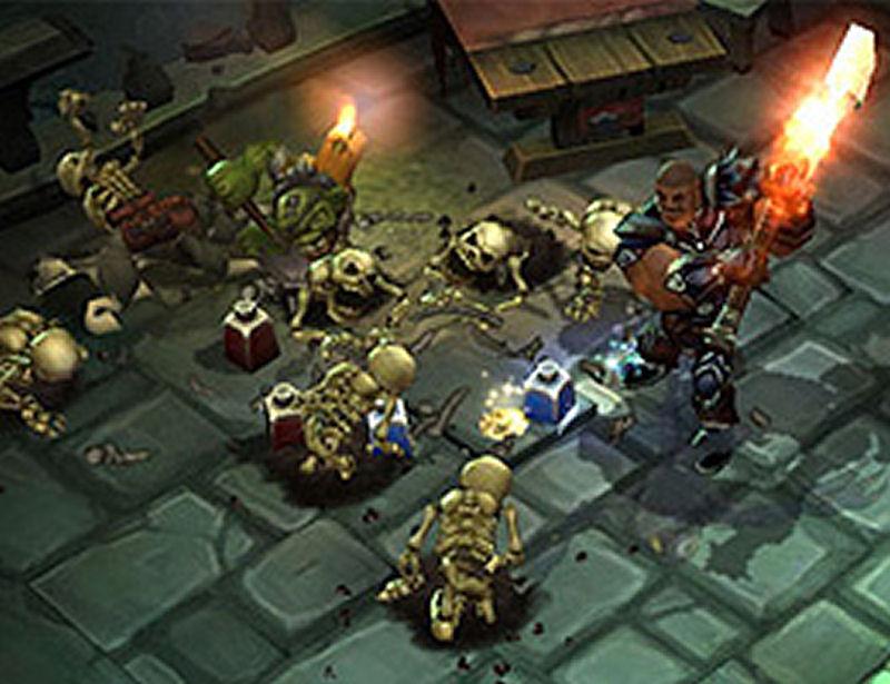 Screenshot af Torchlight
