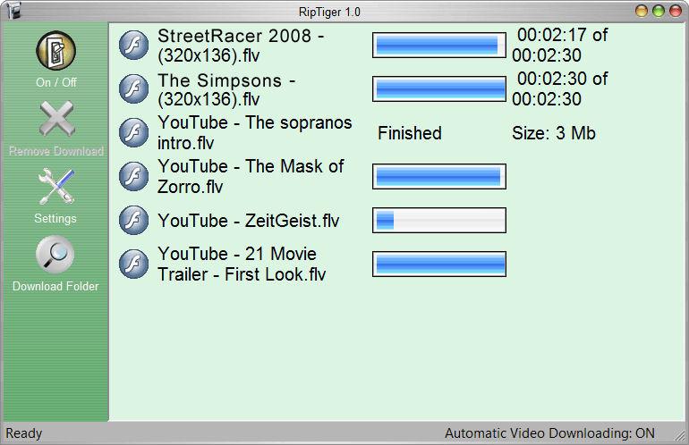 Screenshot af RipTiger Full