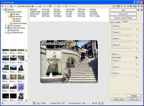 Screenshot af Photoscape