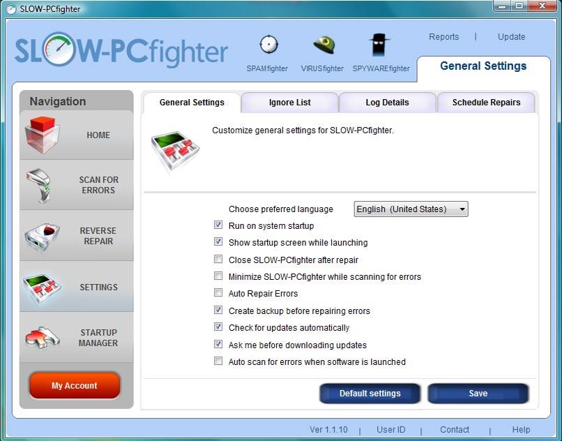 Screenshot af SLOW-PCfighter