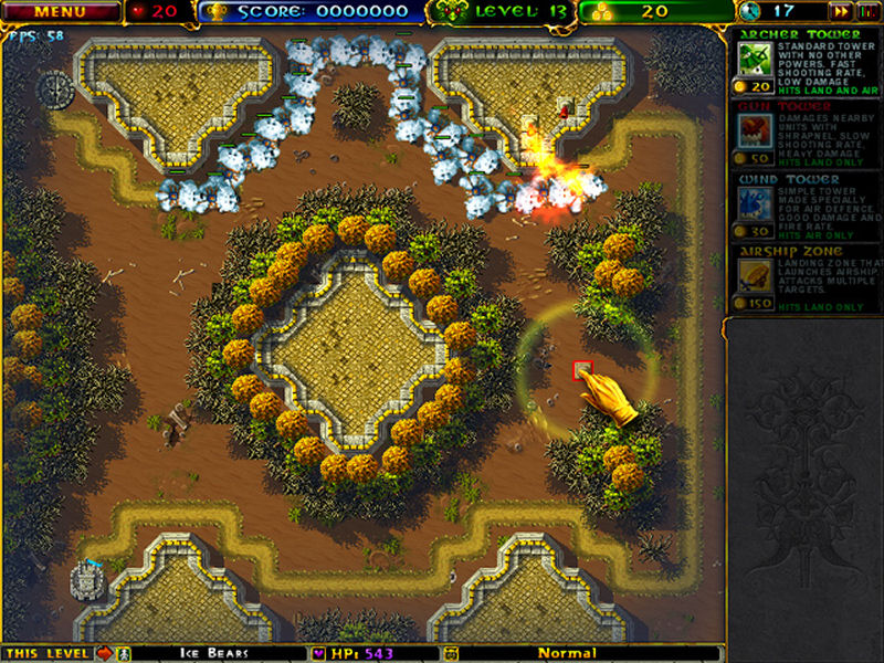 Screenshot af Azgard Defence
