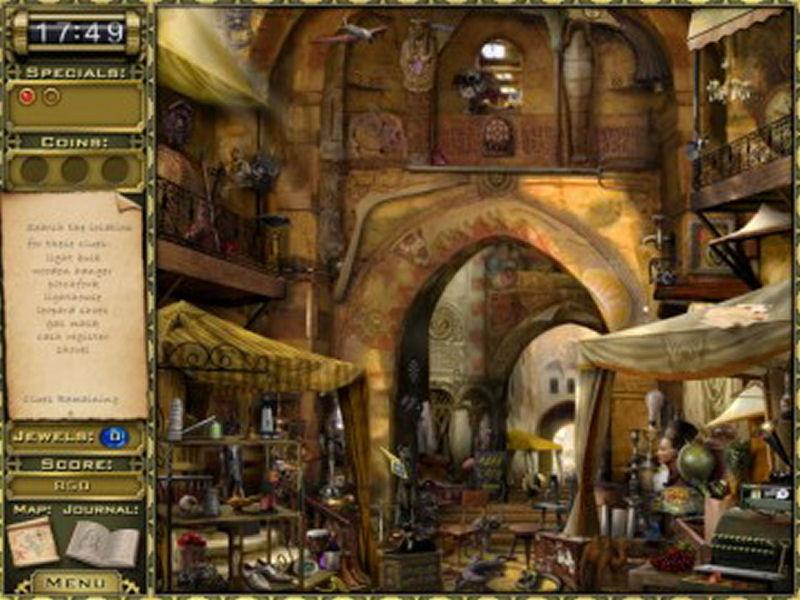 Screenshot af Jewel Quest Mysteries: Curse of the Emerald Tear