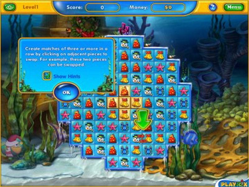 Screenshot af Fishdom: Frosty Splash