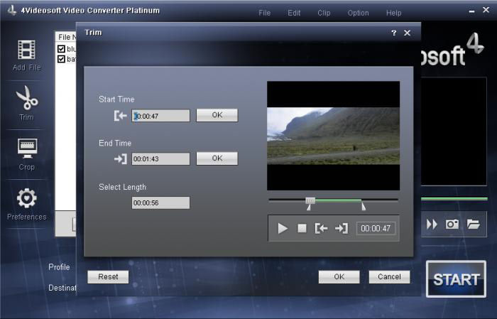 Screenshot af 4Videosoft Video Converter Platinum