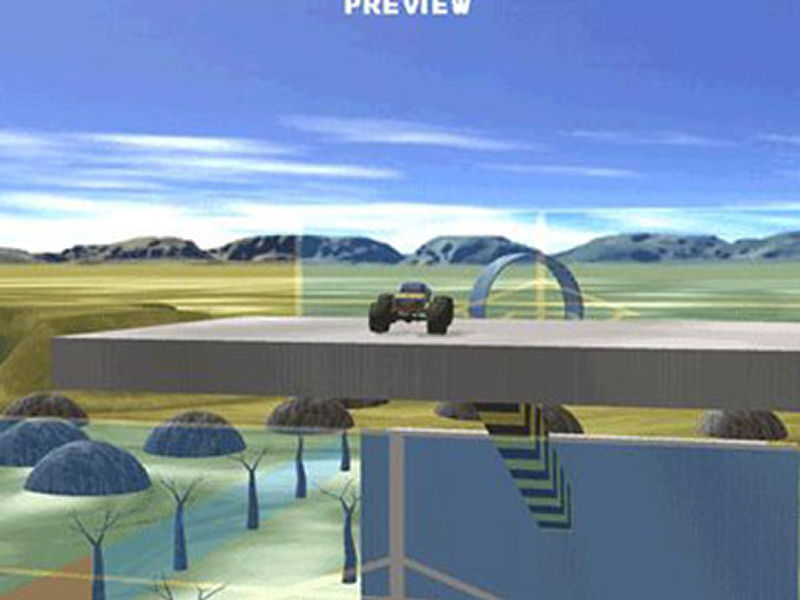 Screenshot af  Monster Truck Stunt Rally