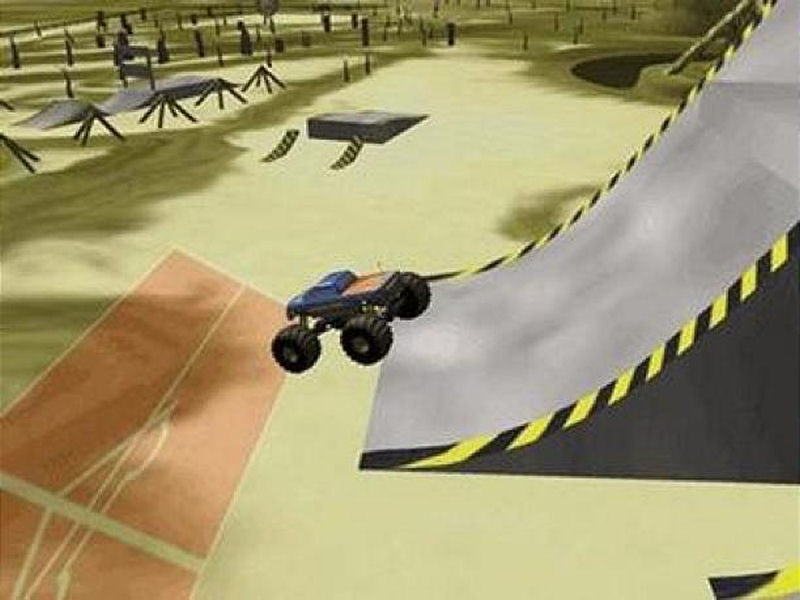 Screenshot af  Monster Truck Stunt Rally