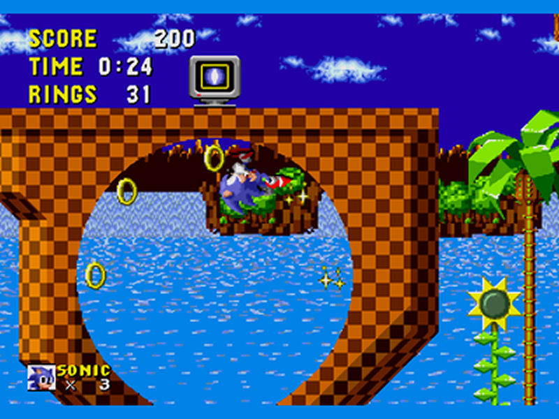 Screenshot af  Sonic the Hedgehog Adventure 3 1