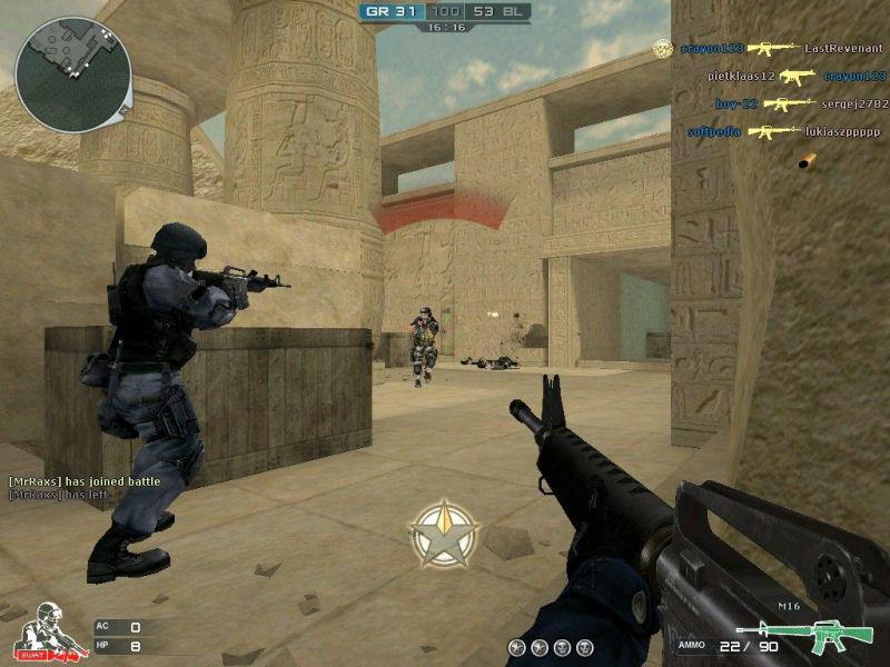 Screenshot af Cross Fire 1041