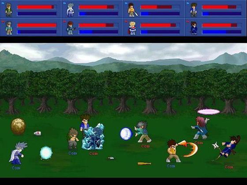 Screenshot af Little Fighter 2.0a