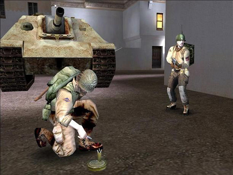 Screenshot af Return to Castle Wolfenstein: Enemy Territory